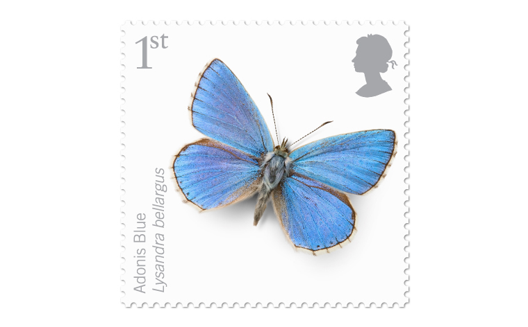 Endangered Insects stamps